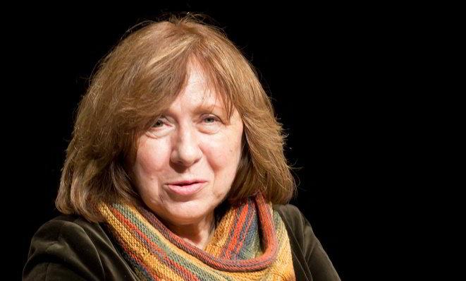 Svetlana Aleksievic nobel 2015 chi è scritto