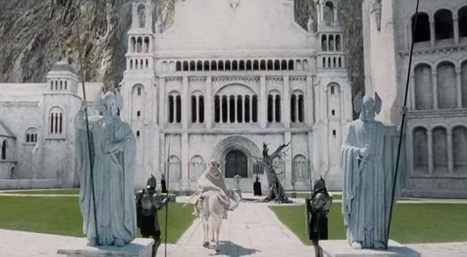 Ravenna ispira Minas Tirith a Tolkien