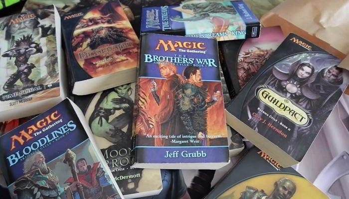 Magic L'Adunanza: i libri di The Gathering