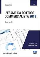 Libri per l'esame di stato da Commercialista 2018