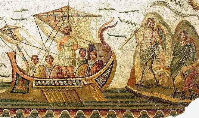 L'incipit dell'Odissea, l'inizio in italiano