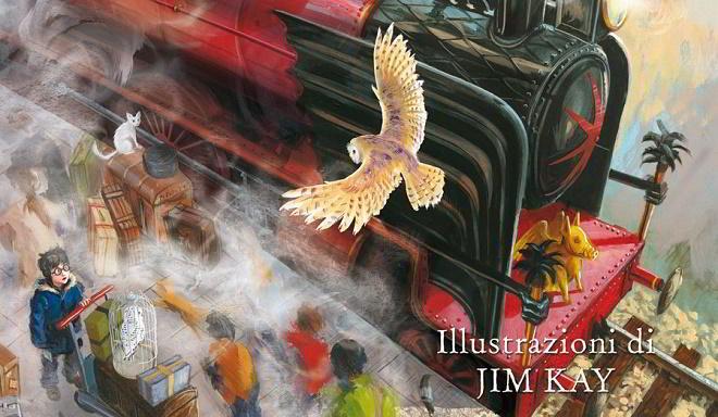 Nuova edizione di Harry Potter con disegni a colori