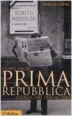 Libri sulla prima repubblica